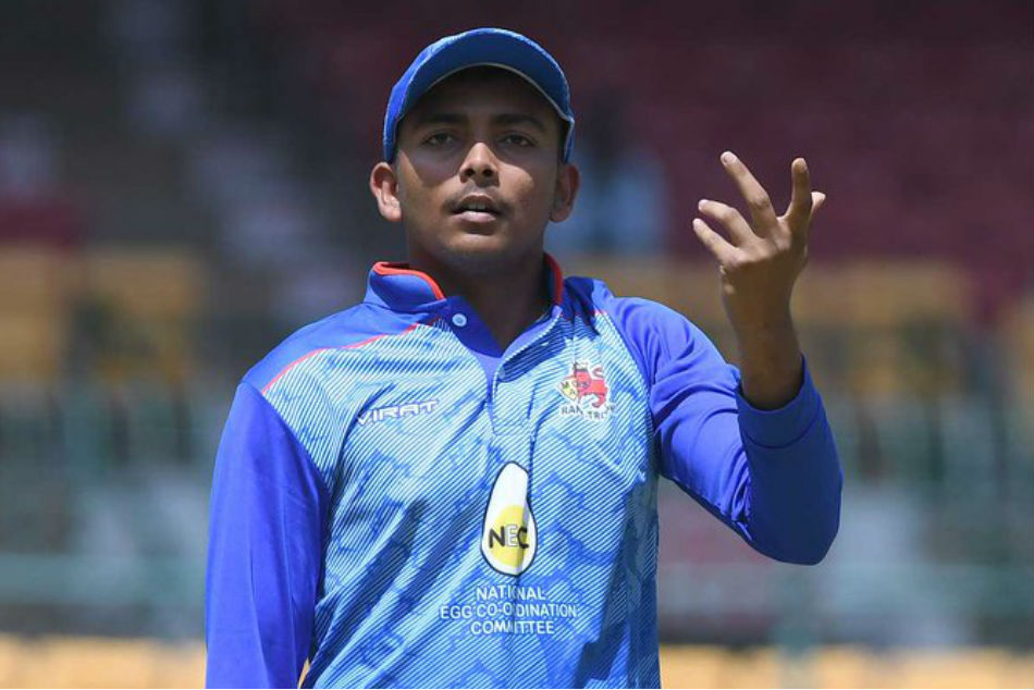 Prithvi Shaw is all set to return to action
