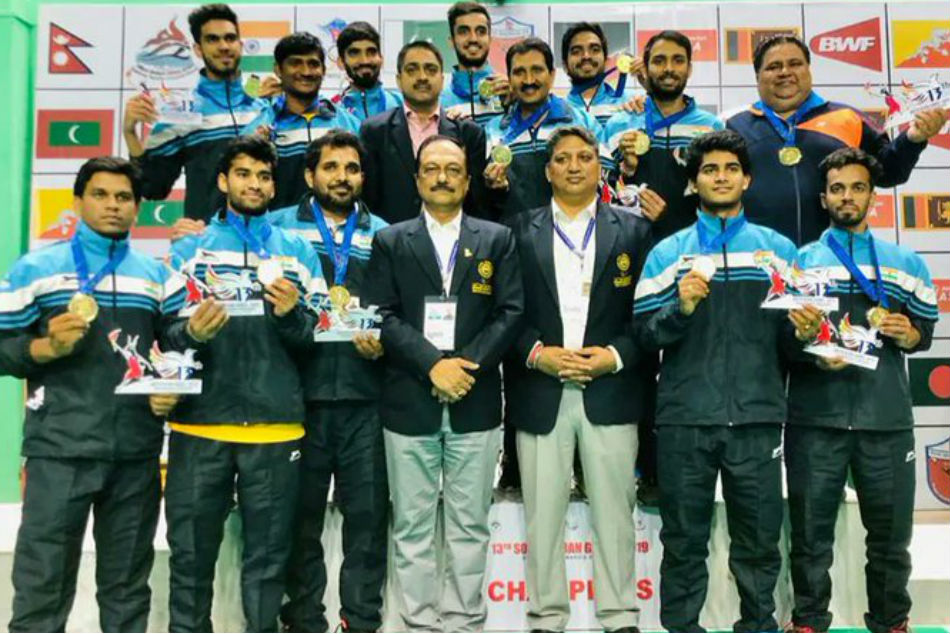 South Asian Games Indian Men S Women S Badminton Teams Win Gold Medals