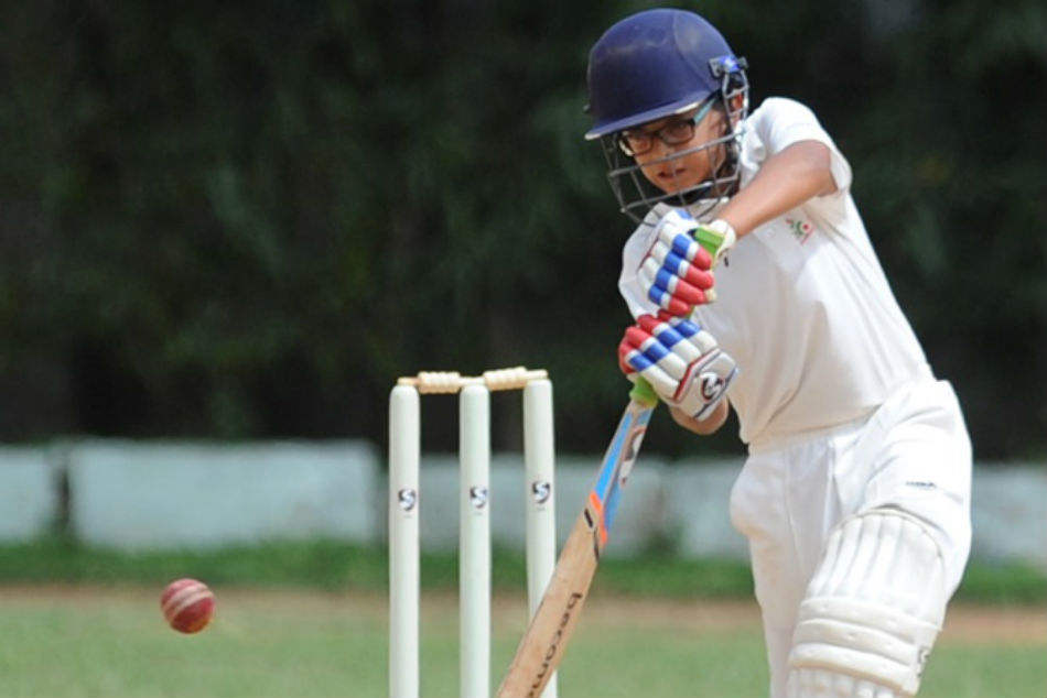 Rahul Dravid's son Samit scores double ton in U14 cricket