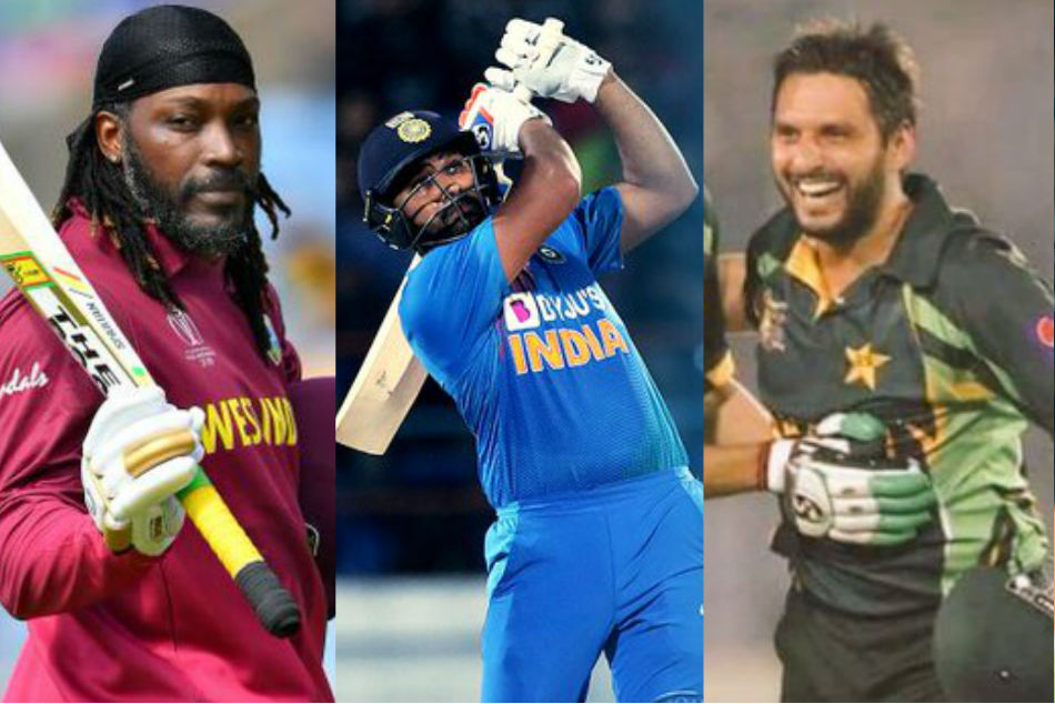 India vs West Indies: Rohit Sharma joins Afridi and Gayle in list of six hitters