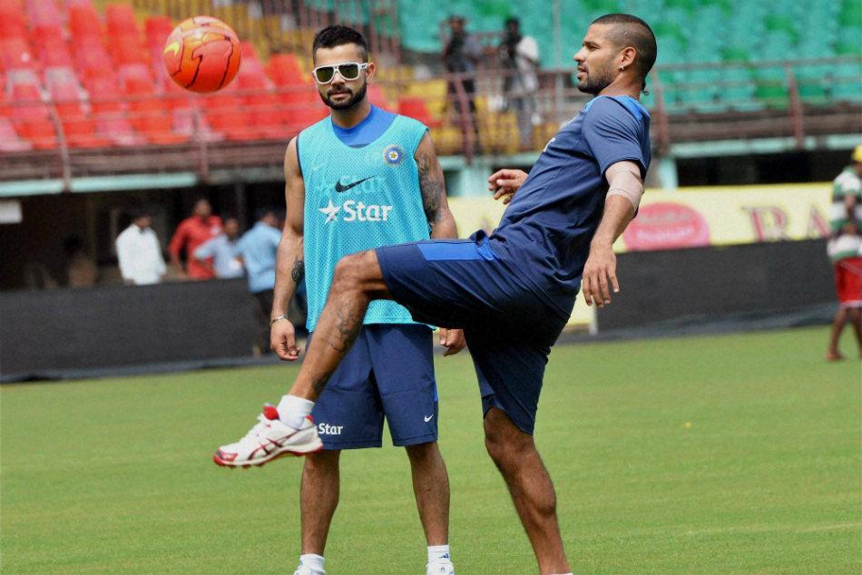 ಭಾರತ vs ವಿಂಡೀಸ್ ಸರಣಿ; ಏಕದಿನ ಸರಣಿಯಿಂದಲೂ ಧವನ್ ಔಟ್?
