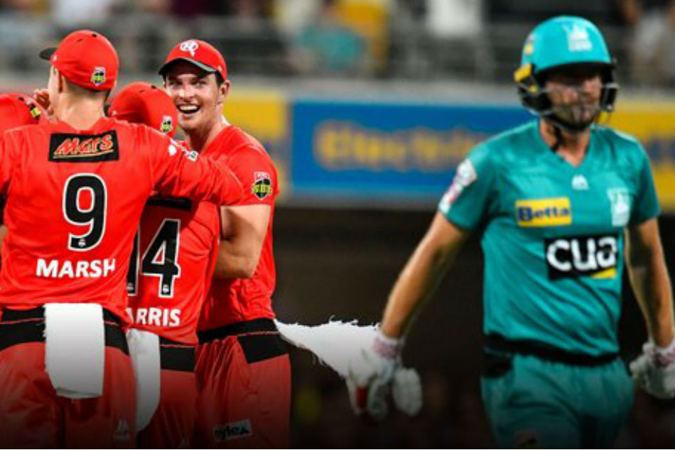 Brisbane Heat register unwanted record in Big Bash League