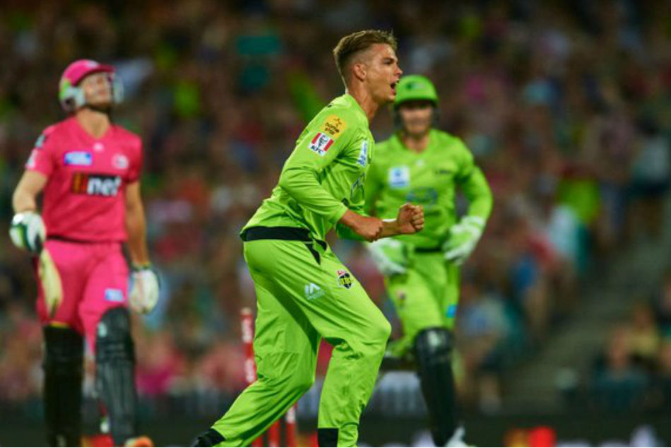 KKRs new signing Chris Green banned for illegal action at BBL