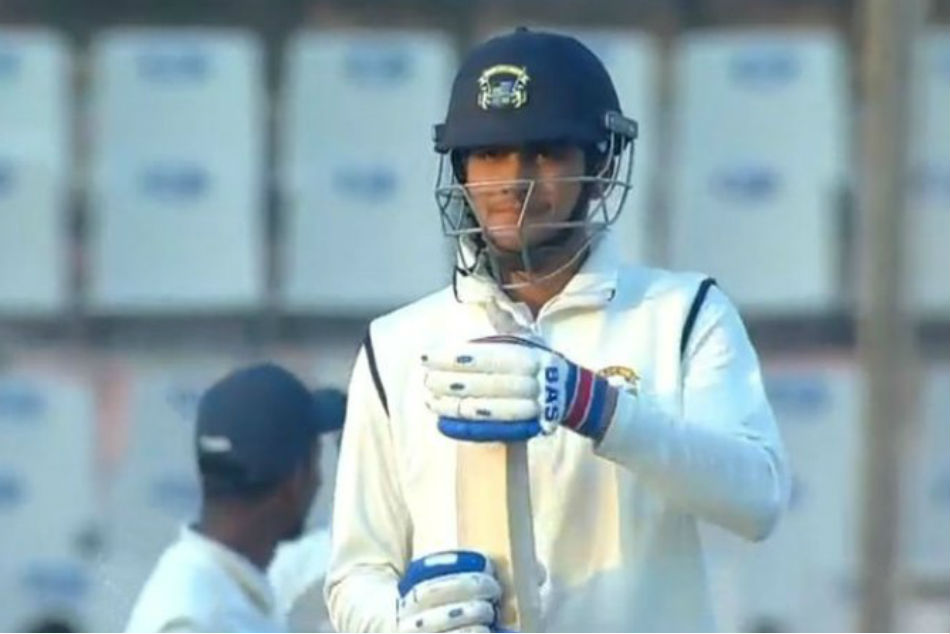 Ranji Trophy Shubman Abuses Umpire After Being Given Out