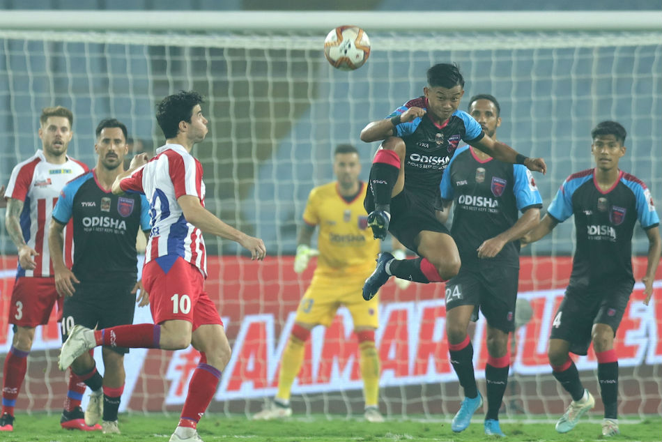 Krishna's hat-trick confirms playoff berth for ATK in style