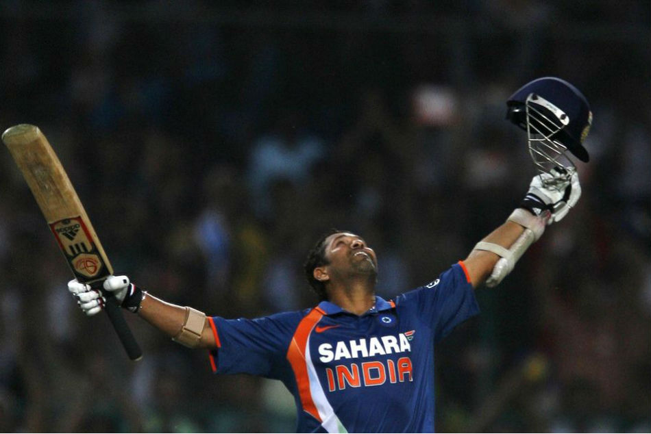 Sachin Tendulkars Double Century In ODIs Completes 10 Years