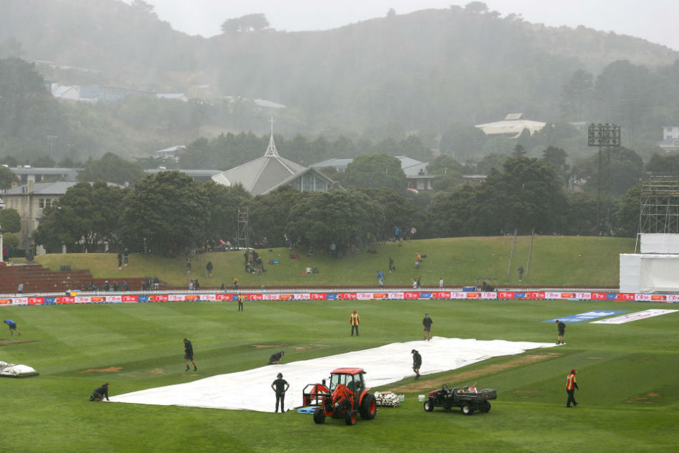 India vs New Zealand 1st Test Live Score Wellington