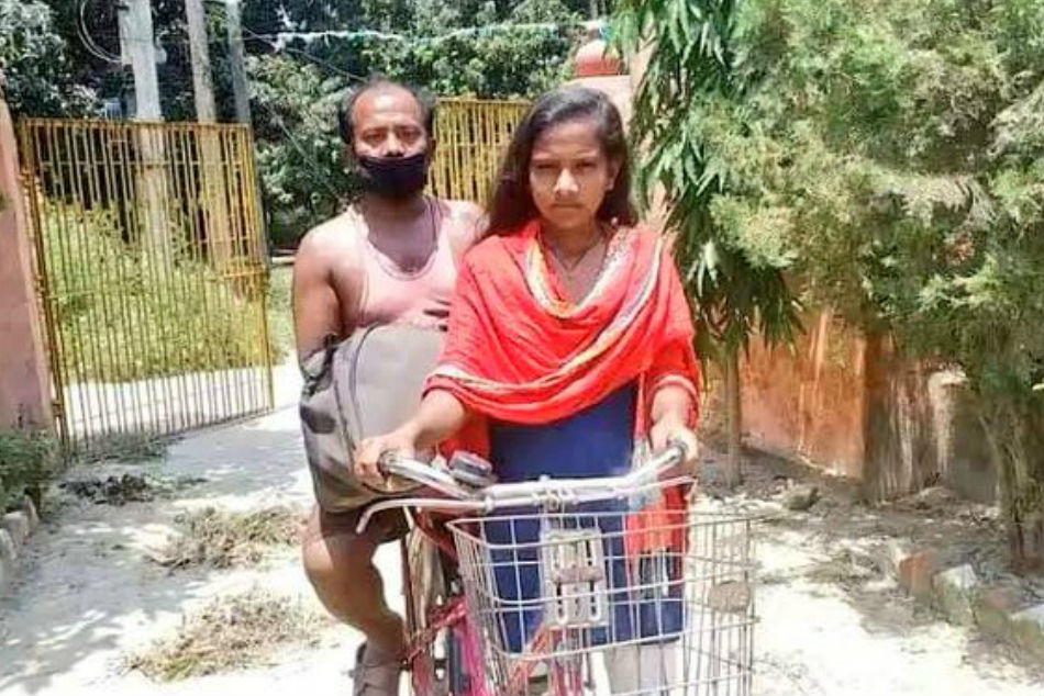 Jyoti Kumari, who cycled 1200 km carrying father, called for trial by cycling federation