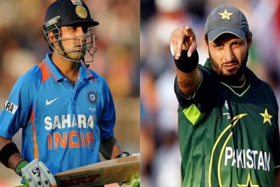 Like Gambhir's Batting But As A Person, He Has Some Problems: Shahid Afridi