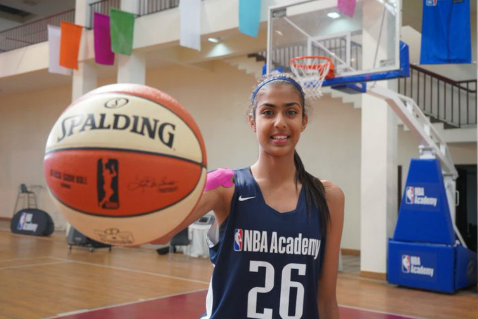 Harsimran Kaur becomes first female basketballer invited to train at NBA Global Academy
