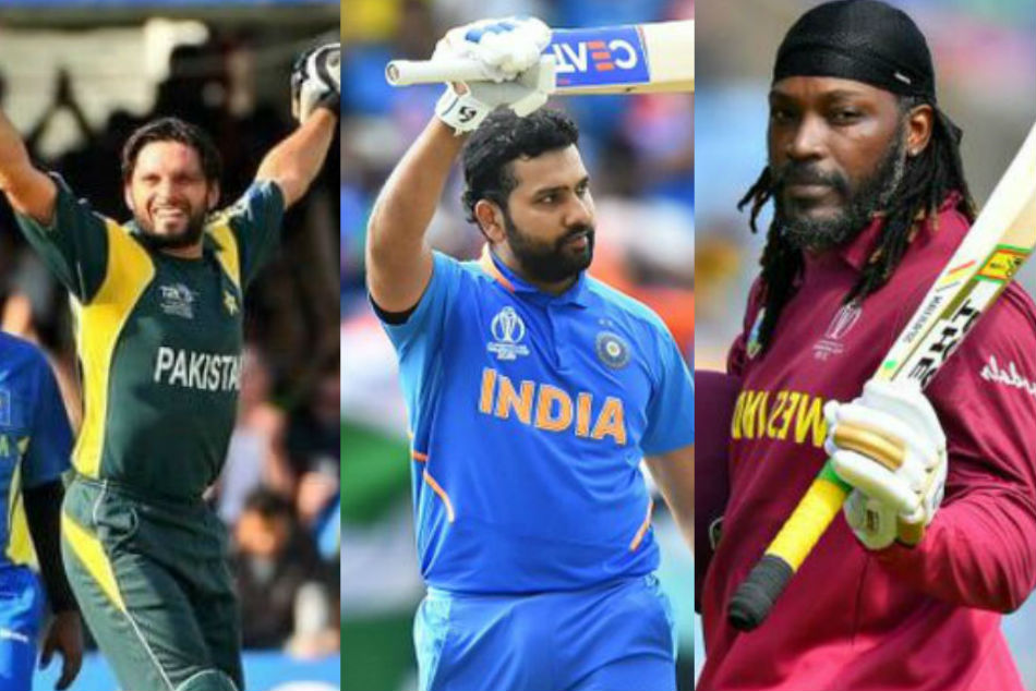 Most Sixes records In One Day International Cricket