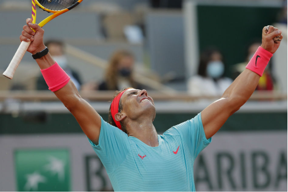 Nadal wins 13th French Open title, thrashes Djokovic to go level with Federer