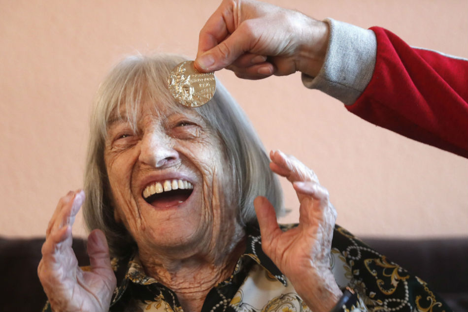Oldest Living Olympic Champion, Agnes Keleti Turns 100