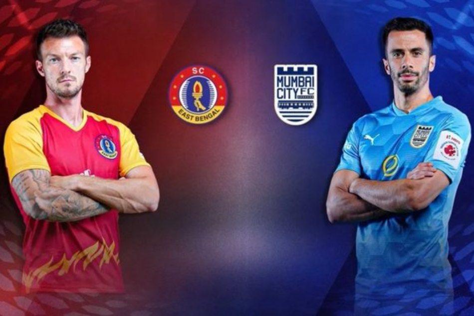 ಐಎಸ್ಎಲ್: ಈಸ್ಟ್ ಬೆಂಗಾಲ್ vs ಮುಂಬೈ ಸಿಟಿ ಎಫ್ಸಿ, Live ಸ್ಕೋರ್