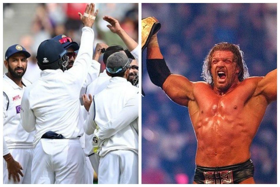 ಟೀಮ್ ಇಂಡಿಯಾ ಗೆಲುವಿಗೆ WWE ದಂತಕತೆ ಟ್ರಿಪಲ್ ಎಚ್ ಶ್ಲಾಘನೆ