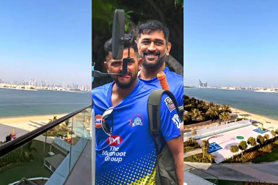 ಐಪಿಎಲ್ 2021: ದುಬೈ ತಲುಪಿ ಹೊಟೇಲ್ ಬಾಲ್ಕನಿಯ ಸುಂದರ ಫೋಟೋ ಹಂಚಿಕೊಂಡ ಸುರೇಶ್ ರೈನಾ