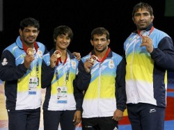Cwg 2014 India S Medal Winners On Day 7 July