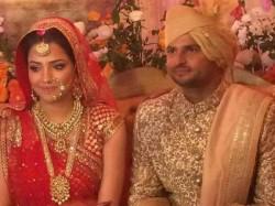 In Pics Suresh Raina Gets Married To Priyanka Chaudhary