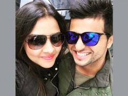 Pics Finally Lovebirds Met Suresh Raina Wife Priyanka Chaudhary In Paris