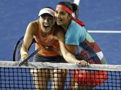 Tennis 41st Successive Victory For Sania Martina Pair