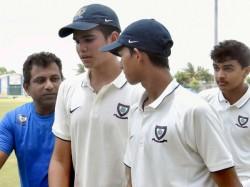 Sachin Tendulkar Son Arjun Duck Out Both Innings