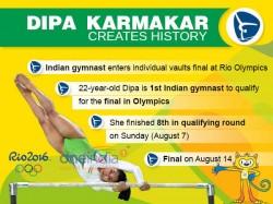 Twitteratti Hail Dipa Karmakar As She Creates History At Rio Olympics
