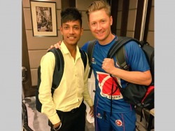 Michael Clarke Sponsors Nepal Teenage Cricketer Play Australia