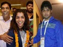Sakshi Malik Gets Engaged Wrestler Boyfriend Satyawart Kadia