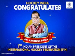 Narinder Batra Becomes First Indian President Of Fih