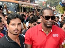 Most Destructive Batsmen Chris Gayle Visits Mangaluru