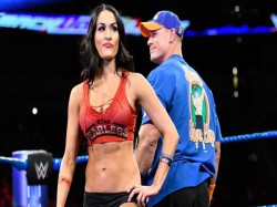 Wwe John Cena Nikki Bella Shoot Special Video For Fans