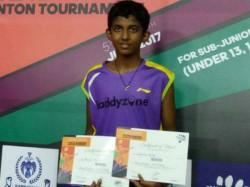 Ayush R Shetty Won Psm State Ranking Junior Badminton Title