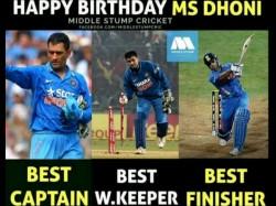 Virat Kohli Yuvraj Singh Wishes On Ms Dhoni S Birthday