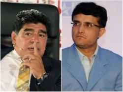 Dhanraj Pillay Sourav Ganguly To Play In Charity Match With Diego Maradona