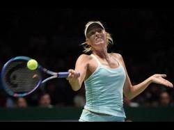 Us Open 2017 Maria Sharapova Stuns Simona Halep On Grand Slam Return