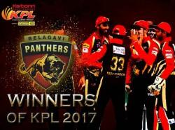 Belagavi Panthers Crowned Kpl 2017 Champions