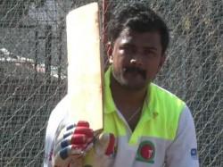 Meet Physically Challenged Cricketer From Hubballi Manjunath J