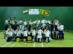 India Wins Both Men Women Throwball Series In Srilanka