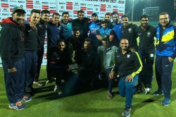India B Lift Deodhar Trophy 2017 18 Beat Karnataka 6 Wickets