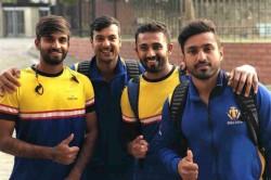 Deodhar Trophy Karnataka Gain Narrow Win Over India B Manoj Tiwary Ravikumar Samarth