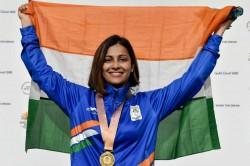 Cwg 2018 Heena Sidhu Wins Gold In 25m Pistol