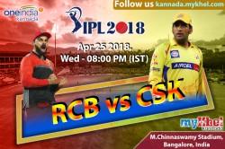 Ipl 2018 Match 24 Royal Challengers Bangalore Chennai Super Kings