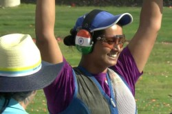 Cwg 2018 Shreyasi Singh Brings Gold For India In Double Trap