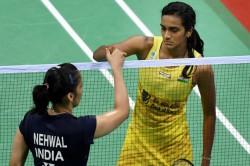 Cwg 2018 Badminton Gold For Saina Silver For Sindhu Womens Final