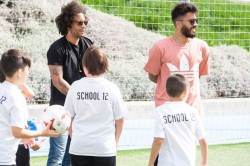 Marcelo S Son Becomes Viral With Real Heading Challenge