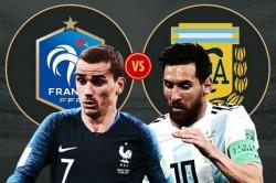 France Vs Argentina Live Score Fifa World Cup