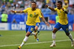 Fifa World Cup 2018 Brazil Beat Mexico 2 0 Enter Quarters