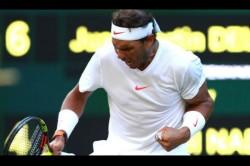 Wimbledon 2018 Nadal Beats Del Potro Five Sets