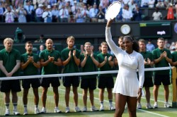 Serena Williams Sends Message Mothers After Wimbledon Loss