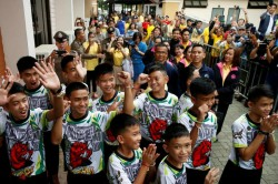 Thailand Cave Soccer Boys Rescue Released From Hospital